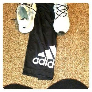 Mens addias shoes and shorts